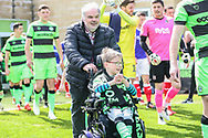 FGR mascot during the EFL Sky Bet League 2 match between Forest Green Rovers and Exeter City at the New Lawn, Forest Green, United Kingdom on 4 May 2019.