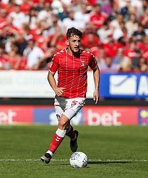 Tom Lockyer of Charlton Athletic on the ball - Mandatory by-line: Arron Gent/JMP - 14/09/2019 - FOOTBALL - The Valley - Charlton, London, England - Charlton Athletic v Birmingham City - Sky Bet Championship