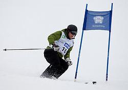 23.01.2012, Planai, Schladming, AUT, FIS Alpin Ski Weltcup, Slalom Herren, Sporthilfe Ski for Gold Promirennen, im Bild Fussballer Anton Josef Polster // former football star Anton Josef Polster at the Sporthilfe Ski for Gold VIP Race during the FIS World Cup Alpine Skiing at the 'Planai', Schladming, Austria on 2012/01/23, EXPA Pictures © 2012, PhotoCredit: EXPA/ Erwin Scheriau