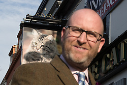 © Licensed to London News Pictures . 27/01/2017 . Copeland , UK . UKIP leader PAUL NUTTALL visiting the constituency of Copeland to launch the party's by-election office .  The seat became vacant after sitting MP Jamie Reed resigned . Photo credit : Joel Goodman/LNP
