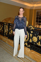 TIPHAINE DE LUSSY at the Lancôme BAFTA Dinner held at The Cafe Royal, Regent's Street, London on 6th February 2015.