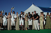 White Birch Polo Players & Models.Polo Mercedes Benz BridgeHampton To Benefit.Leary Foundation.Hosted By Elizabeth hurley & Dennis Leary.BridgeHampton, New York.July 15, 2001.Photo By Antoine Desert/ CelebrityVibe.com..