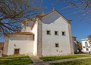 Basilica Real church 18th century building in village of Castro Verde, Baixo Alentejo, Portugal, southern Europe