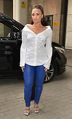 Demi Lovato seen at BBC studios - 27 Sep 2017