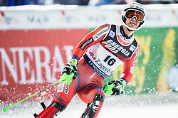 """Sebastian Foss-Solevaag (NOR)  during the 2nd Run of FIS Alpine Ski World Cup 2017/18 Men's Slalom race named """"Snow Queen Trophy 2018"""", on January 4, 2018 in Course Crveni Spust at Sljeme hill, Zagreb, Croatia. Photo by Vid Ponikvar / Sportida"""