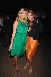 Left to right, CLEMENTINE BROWN and KATY WICKREMESINGHE at the Quintessentially Summer Party at the Wallace Collection, Manchester Square, London on 6th June 2007.<br /><br />NON EXCLUSIVE - WORLD RIGHTS