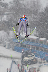 05.01.2012, Paul Ausserleitner Schanze, Bischofshofen, AUT, 60. Vierschanzentournee, FIS Ski Sprung Weltcup, Training, im Bild Stoch Kamil (POL) // Stoch Kamil of Poland during a practice session of 60th Four-Hills-Tournament FIS World Cup Ski Jumping at Paul Ausserleitner Schanze, Bischofshofen, Austria on 2012/01/05. EXPA Pictures © 2012, PhotoCredit: EXPA/ Johann Groder