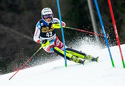 VON GRUENIGEN Noel of Switzerland during the Audi FIS Alpine Ski World Cup Men's Slalom 58th Vitranc Cup 2019 on March 10, 2019 in Podkoren, Kranjska Gora, Slovenia. Photo by Matic Ritonja / Sportida