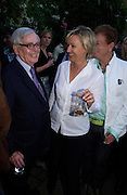 Dominick Dunne, Tina Brown and Nicky Haslam. Spectator party. Doughty St. London. 28 July 2005. ONE TIME USE ONLY - DO NOT ARCHIVE  © Copyright Photograph by Dafydd Jones 66 Stockwell Park Rd. London SW9 0DA Tel 020 7733 0108 www.dafjones.com