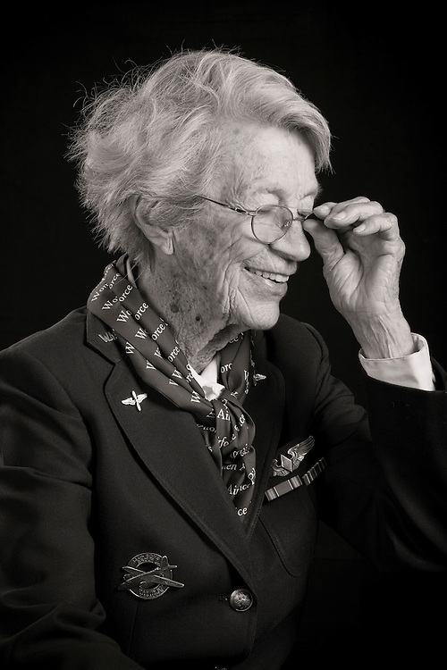 """""""Dotty""""Lewis graduated from WASP Class 44-5, and flew P-40's, the P-63, and the B-26 Marauder.  She was also an instructor pilot.  After the war she worked teaching art (among other things), and her portrait of former Attorney General Janet Reno hangs in the US Justice Department in Washington, D.C.  She has a bronze statue commemorating the WASP's in the Honor Court of the US Air Force Academy, in Colorado Springs, Colorado.   <br /> <br /> Created by aviation photographer John Slemp of Aerographs Aviation Photography. Clients include Goodyear Aviation Tires, Phillips 66 Aviation Fuels, Smithsonian Air & Space magazine, and The Lindbergh Foundation.  Specialising in high end commercial aviation photography and the supply of aviation stock photography for advertising, corporate, and editorial use."""