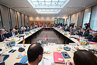 16 MAR 2017, BERLIN/GERMANY:<br /> Uebersicht Sitzungssaal, vor Beginn einer Sitzung der Ministerpraesidentenkonferenz, Bundesrat<br /> IMAGE: 20170316-01-019<br /> KEYWORDS: Ministerpräsidentenkonferenz, MPK, Übersicht