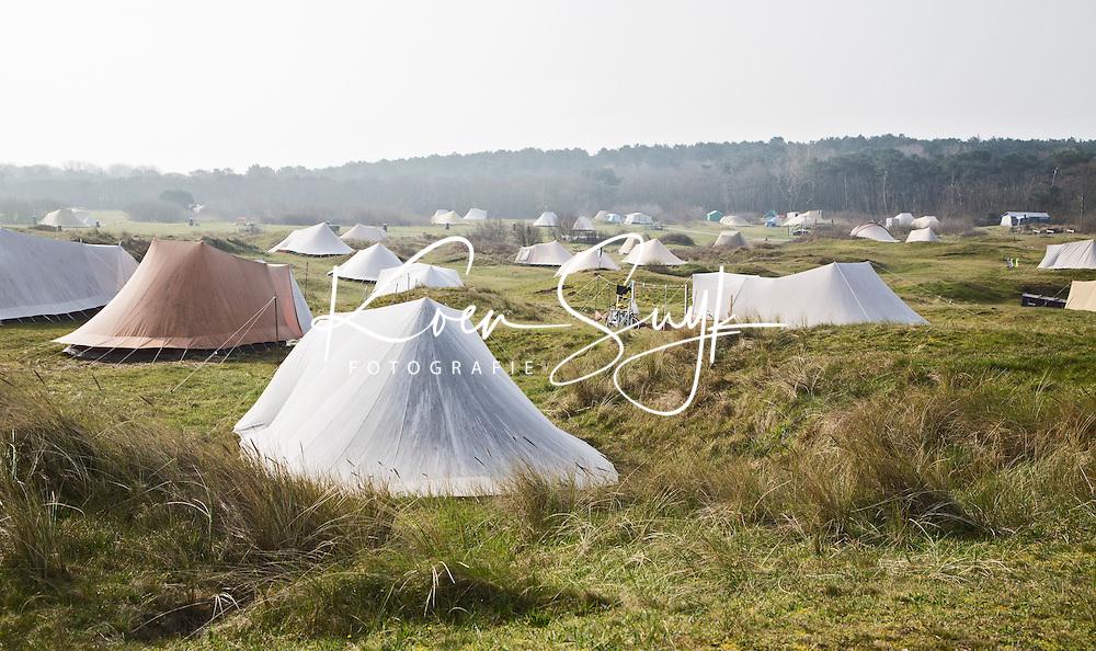VLIELAND - Tenten  camping Stortemelk.  COPYRIGHT KOEN SUYK
