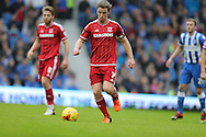 Middlesbrough FC midfielder Grant Leadbitter during the Sky Bet Championship match between Brighton and Hove Albion and Middlesbrough at the American Express Community Stadium, Brighton and Hove, England on 19 December 2015.