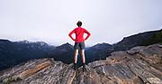 Hiking in Montana's Bitterroot Valley.