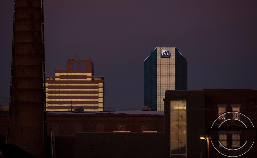 Downtown Lexington on Friday January 21, 2018. Photo by Mark Cornelison /UKphoto