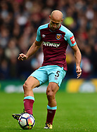 Pablo Zabaleta of West Ham United in action. Premier league match, West Bromwich Albion v West Ham United at the Hawthorns stadium in West Bromwich, Midlands on Saturday 16th September 2017. pic by Bradley Collyer, Andrew Orchard sports photography.
