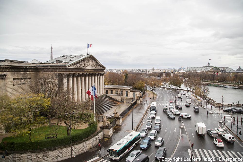 21112016. Paris. Illustrations Assemblée nationale.