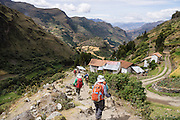 Day 1 of 10: Starting at Vaqueria, we trek 10 days around Alpamayo, in the Cordillera Blanca, Andes Mountains, near Peru, South America.
