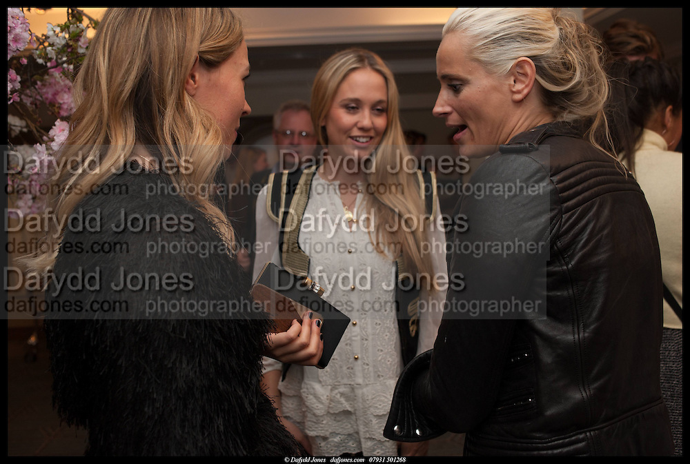 FLORENCE BRUDENELL-BRUCE; KALITA AL SWAIDI;, Alice in her Palace party, Alice Naylor-Leyland launch of her  blog, Alice in her Palace, Drawing Room at Fortnum & Mason. 27 March 2014