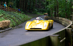 Boness Revival hillclimb motorsport event in Boness, Scotland, UK. The 2019 Bo'ness Revival Classic and Hillclimb, Scotland's first purpose-built motorsport venue, it marked 60 years since double Formula 1 World Champion Jim Clark competed here.  It took place Saturday 31 August and Sunday 1 September 2019.52. Kenny Baird. Fisher Spyder
