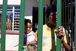 May 5, 2020 - Johannesburg, Gauteng, South Africa - A mother of eight children finds it very difficult to survive because for the lock down.  (Credit Image: © Manash Das/ZUMA Wire/ZUMAPRESS.com)