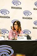 Jody Houser at Wondercon in Anaheim Ca. March 31, 2019
