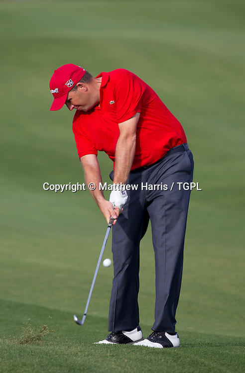 Anthony WALL (ENG) during fourth round,Commercial Bank Qatar Masters 2013,Doha GC,Doha,Qatar,26th January 2013.