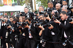 'Les Miserables' during the 72nd Cannes Film Festival at Palais des Festivals in Cannes, France, on 15 May 2019. 15 May 2019 Pictured: Photographers seen the premiere of 'Les Miserables' during the 72nd Cannes Film Festival at Palais des Festivals in Cannes, France, on 15 May 2019. Photo: Vinnie Levine. Photo credit: Vinnie Levine / MEGA TheMegaAgency.com +1 888 505 6342