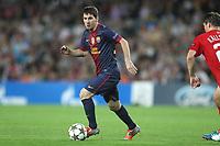 FOOTBALL - UEFA CHAMPIONS LEAGUE 2012/2013 - GROUP STAGE - GROUP G - FC BARCELONA v SPARTAK MOSCOW - 19/09/2012 - PHOTO MANUEL BLONDEAU / AOP PRESS / DPPI -