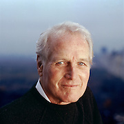 Paul Newman, Academy Award-winning actor and founder of Newman's Own, a charitable organization that has donated more money than the actor has made from his films.