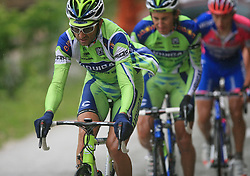 Andrea Noe of Italia (Liquigas) during 3rd stage of the 15th Tour de Slovenie from Skofja Loka to Krvavec (129,5 km), on June 13,2008, Slovenia. (Photo by Vid Ponikvar / Sportal Images)/ Sportida)