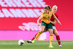 OSLO, NORWAY - Tuesday, September 22, 2020: Wales' Kayleigh Green during the UEFA Women's Euro 2022 England Qualifying Round Group C match between Norway Women and Wales Women at the Ullevaal Stadion. Norway won 1-0. (Pic by Vegard Wivestad Grøtt/Propaganda)