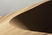 Large sand dune formations in the Namib Desert near Swakopmund, and area popular and famous for sand boarding, Namibia