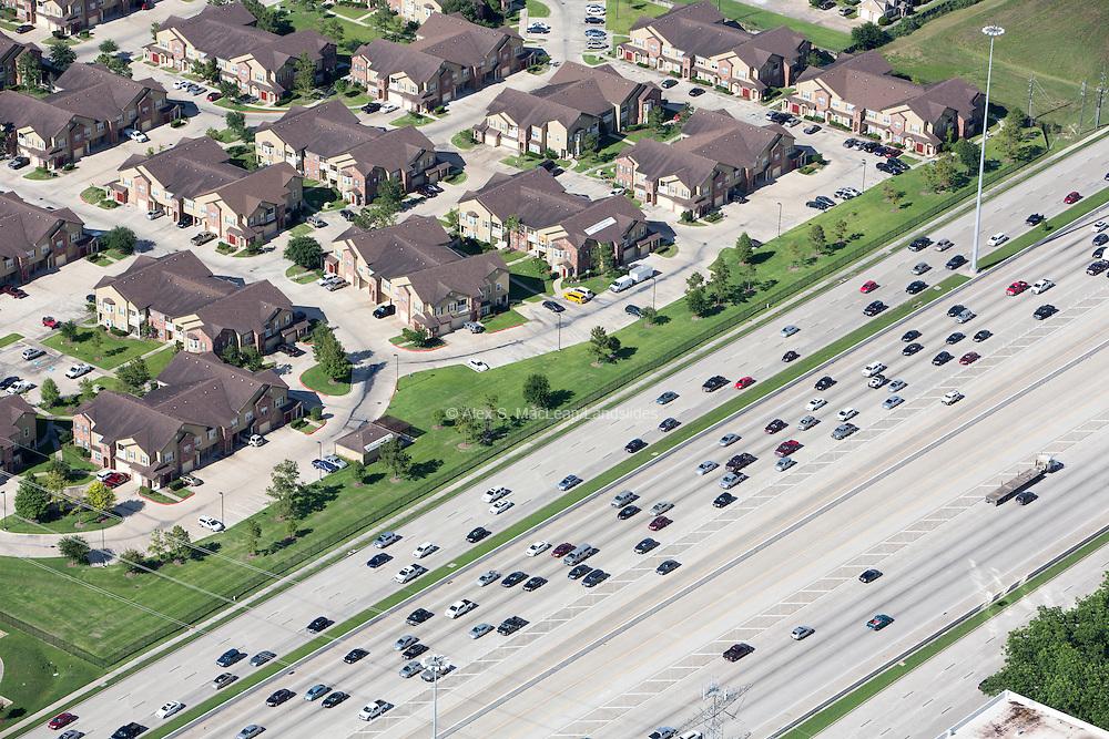 Development adjacent to Katy Freeway