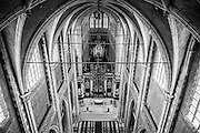 Exhibition of contemporary art curated by Jan Hoet and Hans Martens at the St Bavo's cathedral