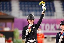 Von Bredow-Werndl Jessica, GER<br /> Olympic Games Tokyo 2021<br /> © Hippo Foto - Stefan Lafrentz<br /> 28/07/2021