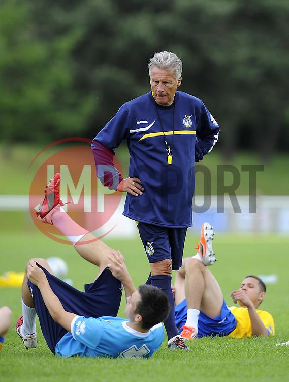 Bristol Rovers Manager, John Ward - Photo mandatory by-line: Joe Meredith/JMP - Tel: Mobile: 07966 386802 24/06/2013 - SPORT - FOOTBALL - Bristol -  Bristol Rovers - Pre Season Training - Npower League Two