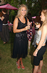 HOLLY BRANSON at the Serpentine Gallery Summer party sponsored by Yves Saint Laurent held at the Serpentine Gallery, Kensington Gardens, London W2 on 11th July 2006.<br /><br />NON EXCLUSIVE - WORLD RIGHTS