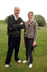 TOM KENYON-SLANEY and LAURA CAMPBELL at a charity shoot in aid of the charity Save The Rhino held at the West London Shooting School, Northolt, Middlesex on 30th May 2008.<br /><br />NON EXCLUSIVE - WORLD RIGHTS