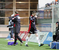 Fotball, <br /> 31.10.2010 , <br /> Tippeligaen  ,<br /> Eliteserien ,<br /> Aalesund - brann 3-1,<br /> Color line stadion ,<br /> <br /> birkir mar sævarsson - brann<br /> <br /> Foto: Richard brevik , Digitalsport