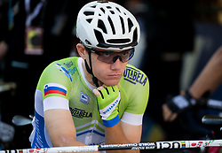 Izidor Penko  of Slovenia during the Men Under 23 Road Race 179.9km Race from Kufstein to Innsbruck 582m at the 91st UCI Road World Championships 2018 / RR / RWC / on September 28, 2018 in Innsbruck, Austria.  Photo by Vid Ponikvar / Sportida
