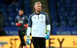 Kasper Schmeichel of Leicester City - Mandatory by-line: Robbie Stephenson/JMP - 28/11/2017 - FOOTBALL - King Power Stadium - Leicester, England - Leicester City v Tottenham Hotspur - Premier League
