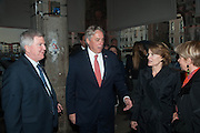 The Bronx Museum of the Arts, Tanya Bonakdar Gallery and the Victoria Miro Gallery host a reception and dinner in honor of Sarah Sze: Triple Point. Representing the United States of America at the 55th Biennale di Venezia with the Co  Commissioners of the  U. S. Pavilion Holly Block, Executive Director of the Bronx Museum of the arts  and Carey Lovelace. <br /> <br /> Rialto Fish market. Venice. . 29 May 2013