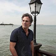Venice Lido, September 3, 2015. American actor Mark Ruffalo for Le Monde.