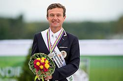 Pepo Puch, (AUT), Fine Feeling S - Individual Test Grade Ib Para Dressage - Alltech FEI World Equestrian Games™ 2014 - Normandy, France.<br /> © Hippo Foto Team - Jon Stroud <br /> 25/06/14