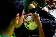 Belo Horizonte_MG, Brasil...1a Copa Kaiser de Futebol Amador de Belo Horizonte. Jogo entre Ferroviaria  x Napoli. ..1st Kaiser Cup of Amateur Football in Belo Horizonte. The match was between Ferroviaria X Napoli...Foto: NIDIN SANCHES / NITRO