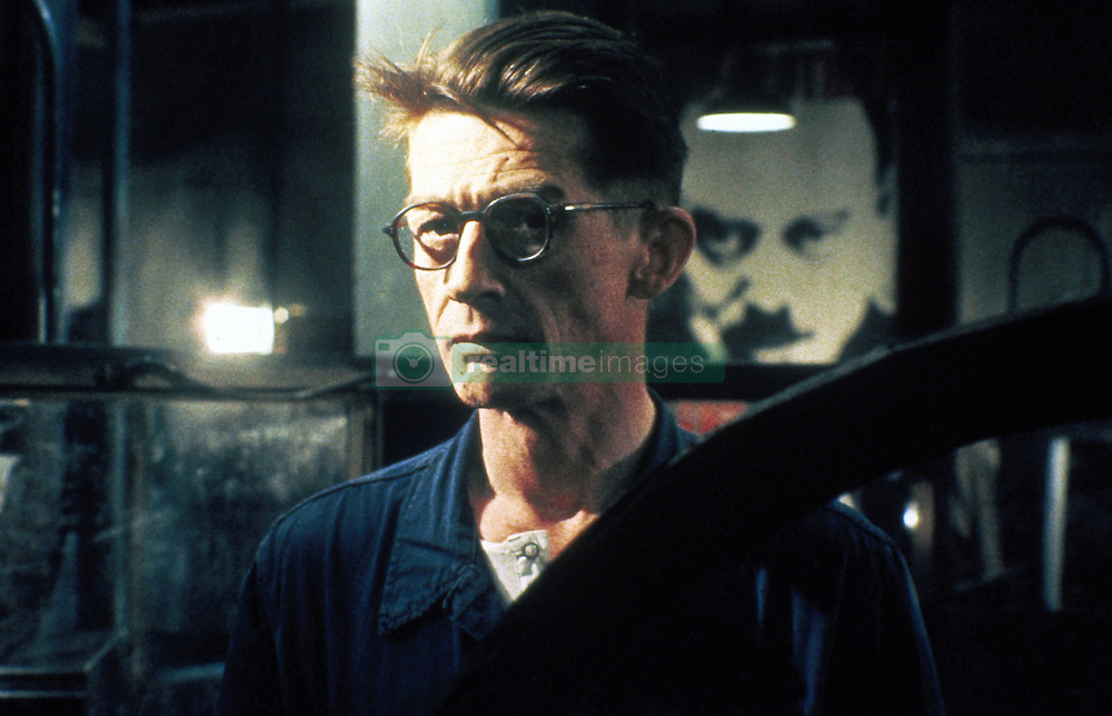 Sir JOHN HURT, CBE (22 January 1940 - 25 January 2017) was an English actor and voice actor whose career spanned six decades. He is know for his roles in: 'A Man for All Seasons' (1966), 'The Elephant Man' (1980), 'Nineteen Eighty-Four' (1984), 'The Hit' (1984), 'Scandal' (1989), 'The Naked Civil Servant' (1975), 'I, Claudius' (1976). and 'Doctor Who: Day of the Doctor' (2013). His character's final scene in 'Alien' has been named by a number of publications as one of the most memorable in cinematic history. He received two Academy Award nominations, a Golden Globe Award and four BAFTA Awards. He was knighted in 2015. PICTURED: Actor JOHN HURT in a scene from the 1984 movie 'Nineteen Eighty-Four'. (Credit Image: © Virgin Benelux/Entertainment Pictures/ZUMAPRESS.com)