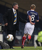 Scotland vs Czech Republic<br /> Tennents International Challenge Match<br /> Wednesday 3 March 2010 <br /> Hampden.<br /> <br /> Scotland Manager Craig Levein<br /> <br /> Ian MacNicol - Colorsport<br /> <br /> Email: info@colorsport.co.uk<br /> Telephone: 01306 712233<br /> Fax: 01306 712260<br /> <br /> <br /> Registration: registration@colorsport.co.uk<br /> Sales: sales@colorsport.co.uk<br /> Enquiries: ask@colorsport.co.uk