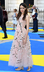 Stacy Martin attending the Royal Academy of Arts Summer Exhibition Party, held at Burlington House in London. Photo credit should read: Doug Peters/EMPICS