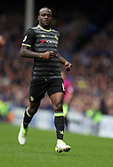 Victor Moses of Chelsea during the English Premier League match at Goodison Park , Liverpool. Picture date: April 30th, 2017. Photo credit should read: Lynne Cameron/Sportimage